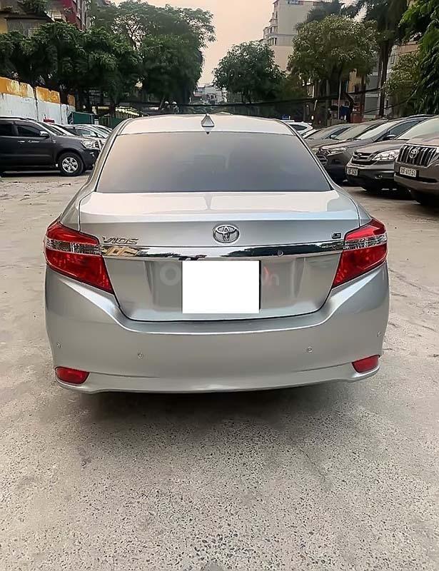 Bán Toyota Vios G năm sản xuất 2014, màu bạc ít sử dụng, giá tốt (4)