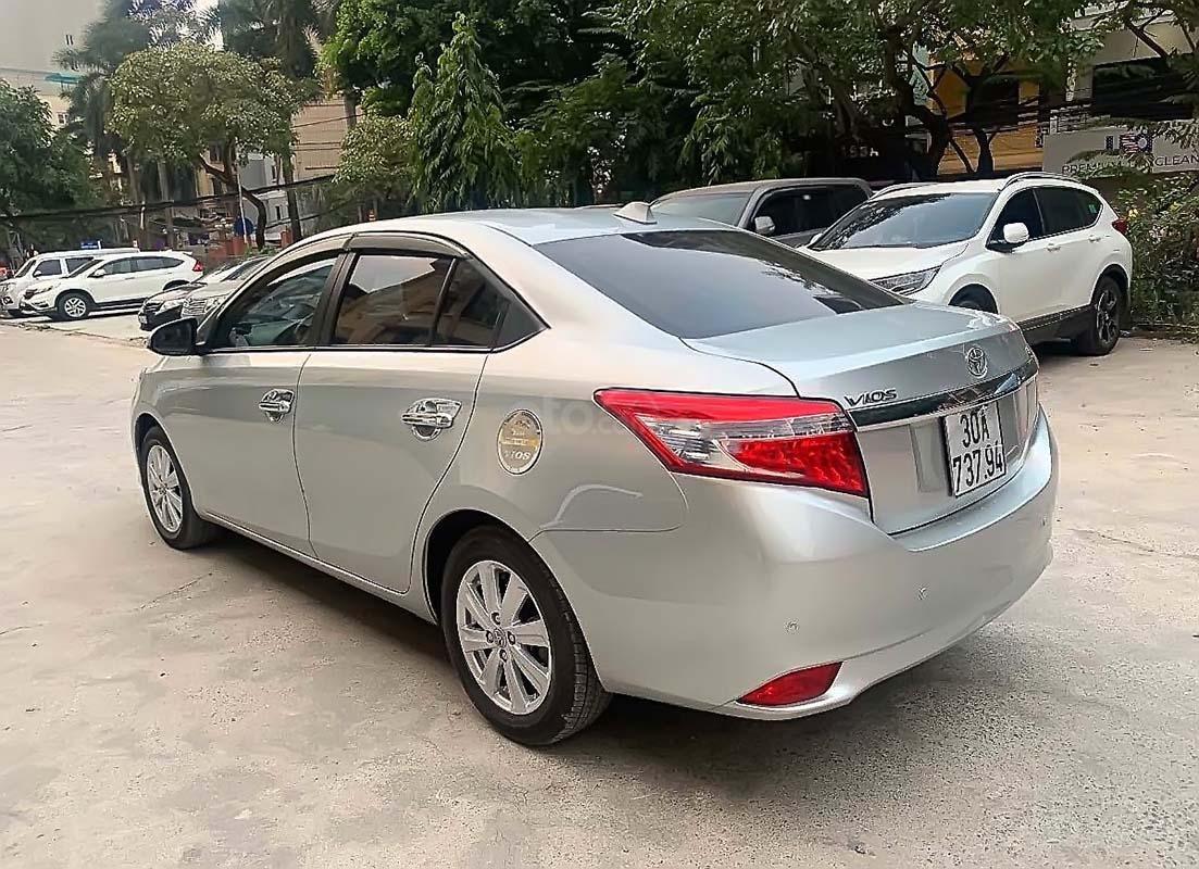 Bán Toyota Vios G năm sản xuất 2014, màu bạc ít sử dụng, giá tốt (5)