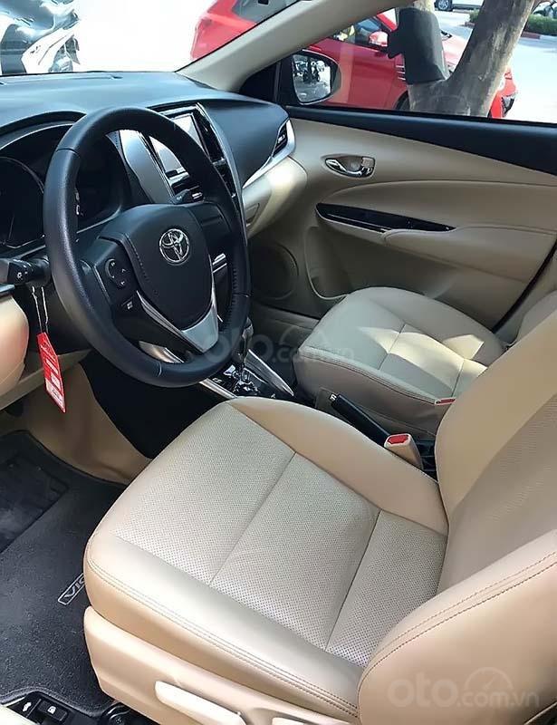 Bán xe Toyota Vios 1.5G sản xuất 2019, màu đen, giá tốt (2)