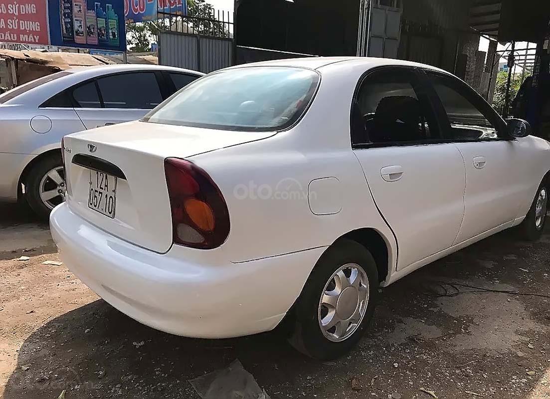 Bán xe cũ Daewoo Lanos SX đời 2003, màu trắng (2)