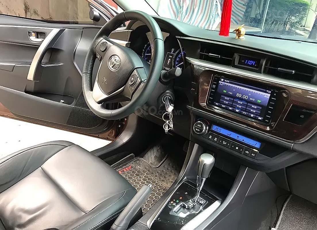 Bán ô tô Toyota Corolla Altis 1.8G 2017, màu nâu, 675tr (5)