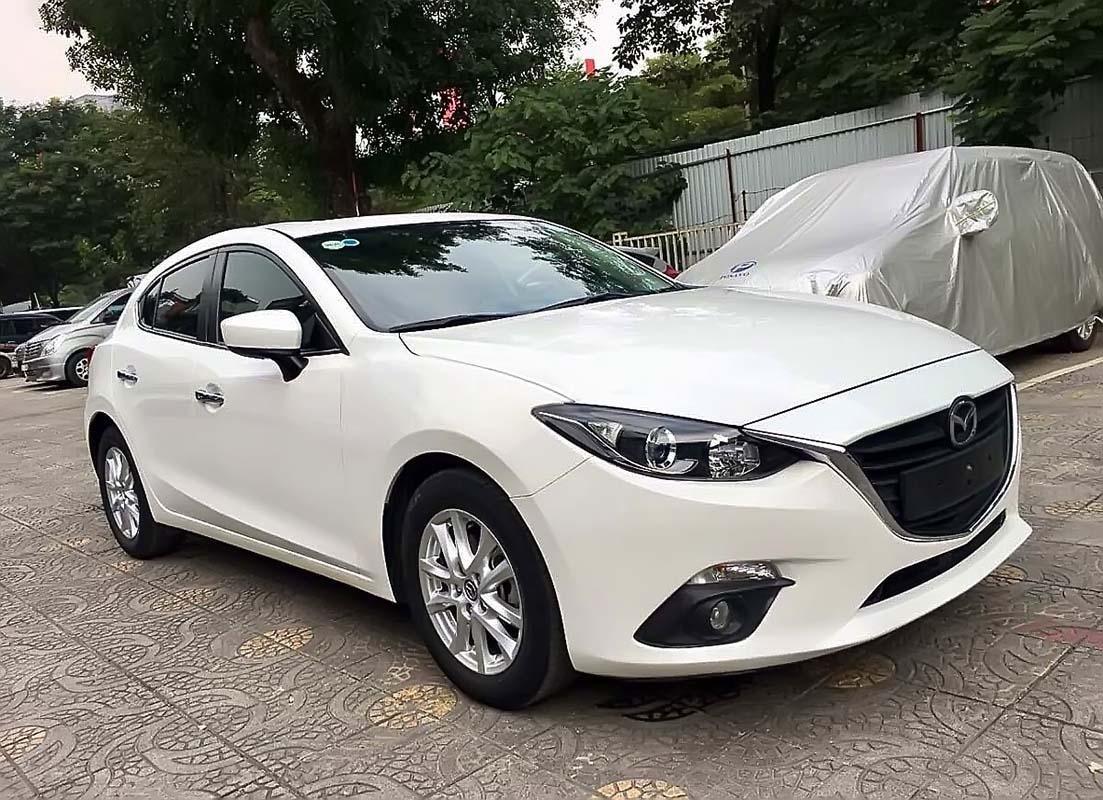 Bán xe cũ Mazda 3 1.5 AT năm 2016, màu trắng (1)