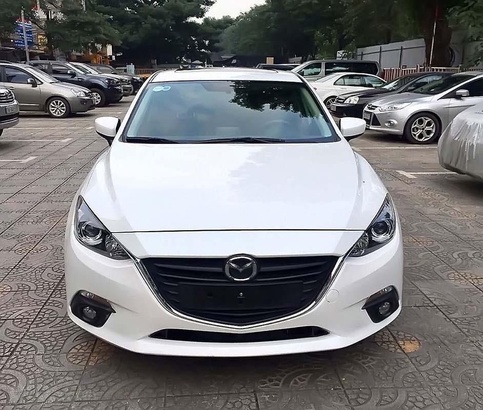 Bán xe cũ Mazda 3 1.5 AT năm 2016, màu trắng (5)