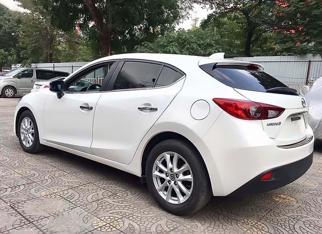 Bán xe cũ Mazda 3 1.5 AT năm 2016, màu trắng (4)