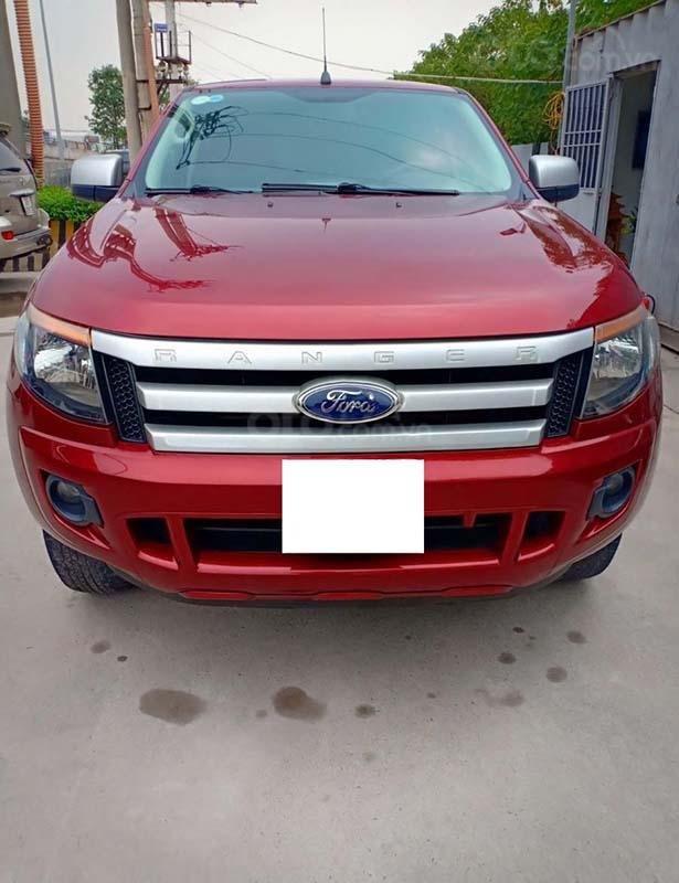 Bán Ford Ranger sản xuất 2014, màu đỏ, nhập khẩu  (1)