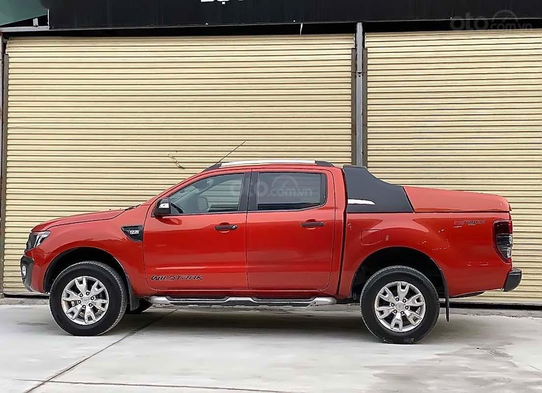 Cần bán Ford Ranger đời 2014, màu đỏ, nhập khẩu (5)