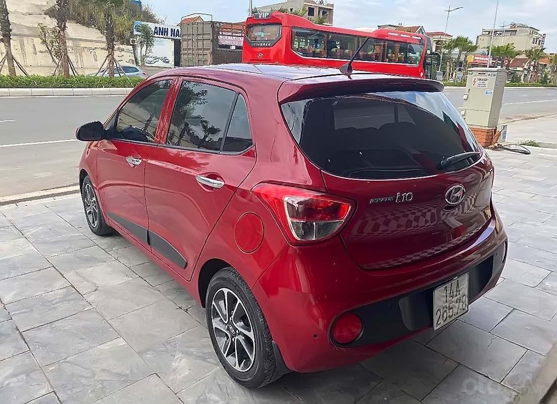 Bán xe Hyundai Grand i10 1.2 AT đời 2017, màu đỏ, số tự động (2)