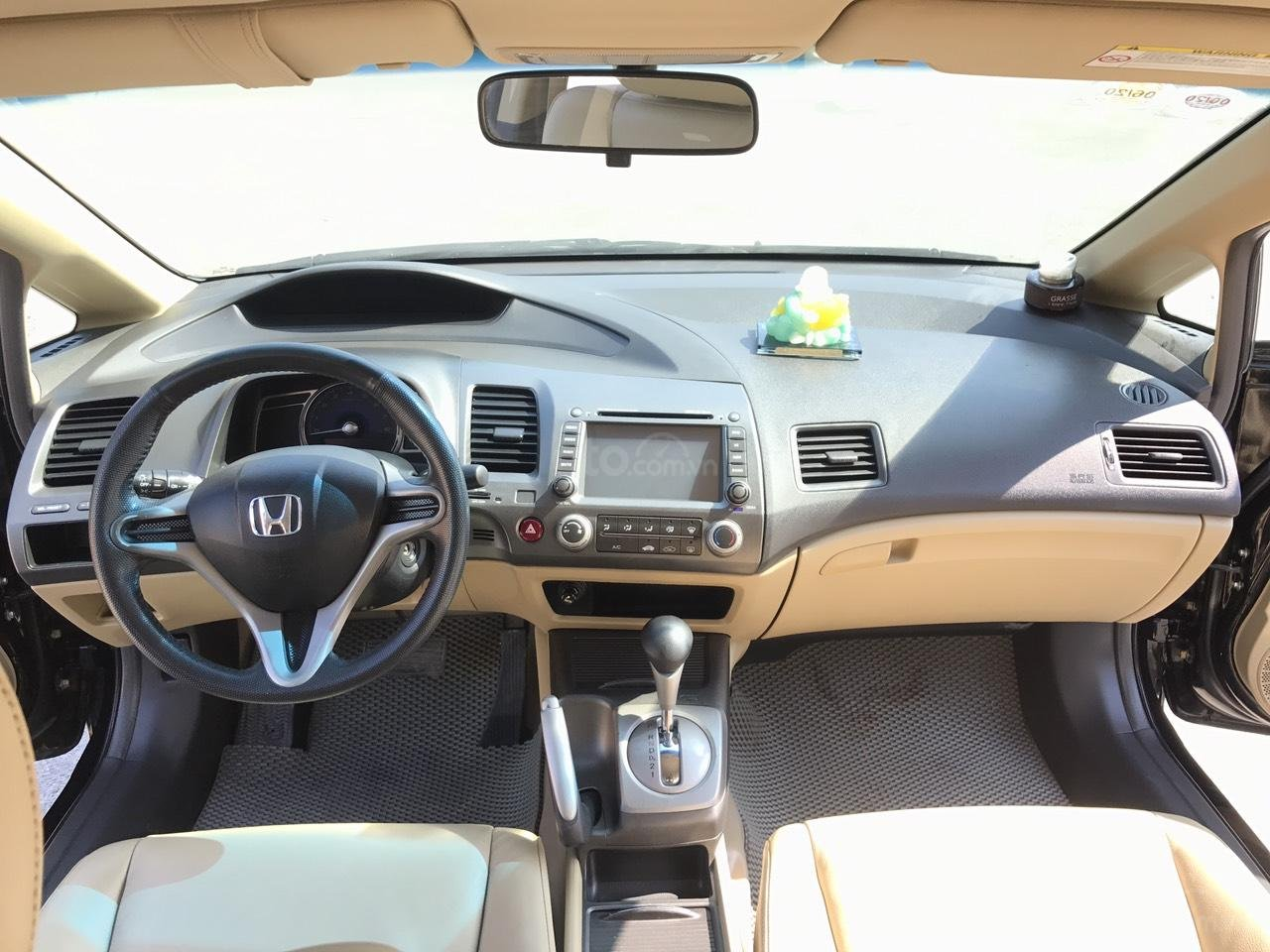 Bán xe Honda Civic 1.8 VTI AT năm sản xuất 2011, màu đen, lỗi biếu xe, mới thật (5)
