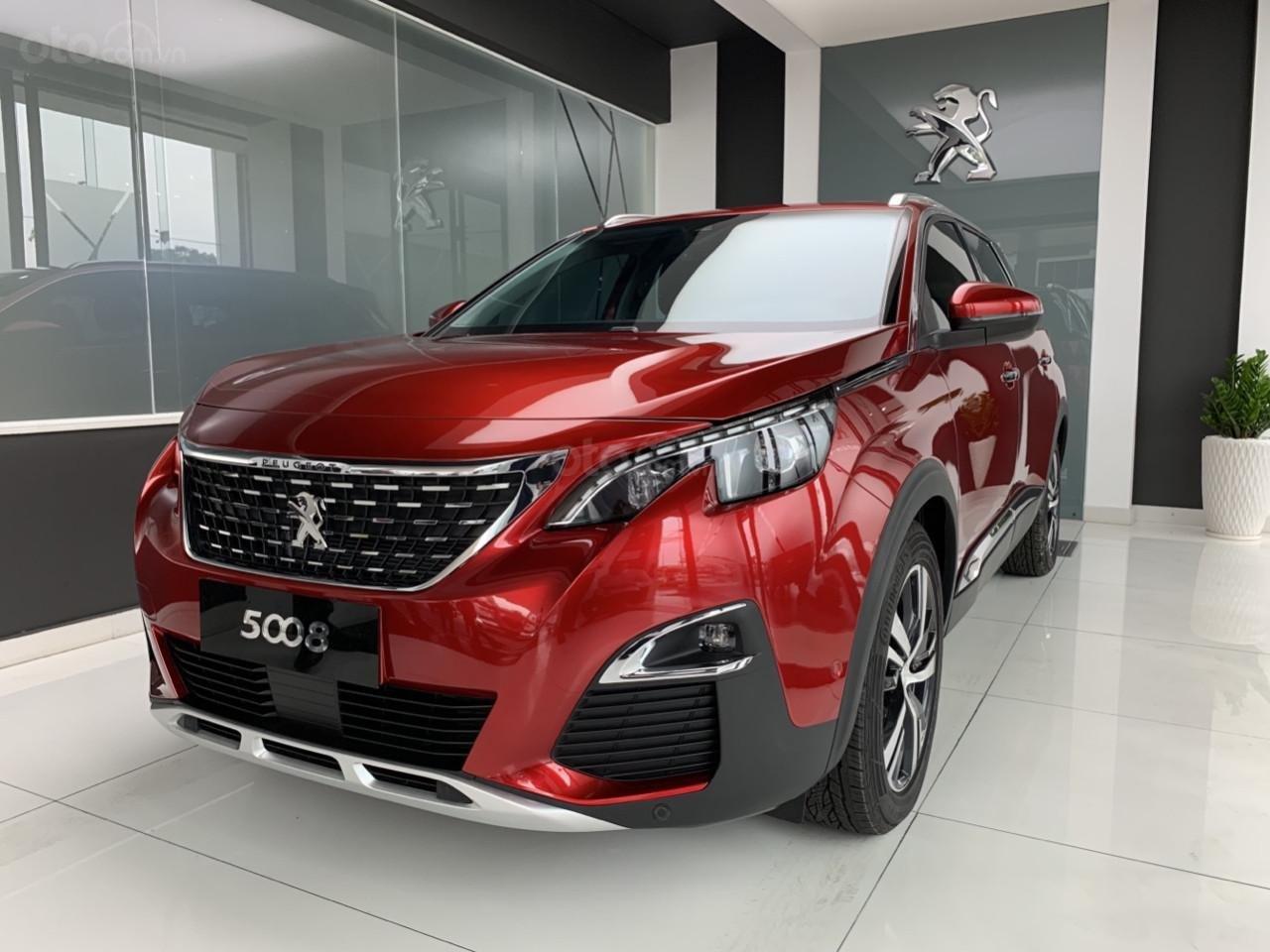 Peugeot 5008 đỏ 2019, chạy lướt, mới lăn bánh 57km, chạy dc 2 ngày, cần thanh lý (2)