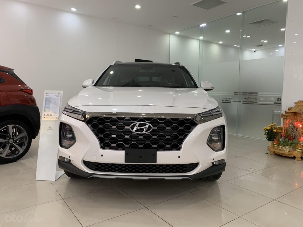 Hyundai Santa Fe 2019 bản Premium máy dầu cao cấp - xe giao ngay - nhiều ưu đãi - 0919929923 (1)