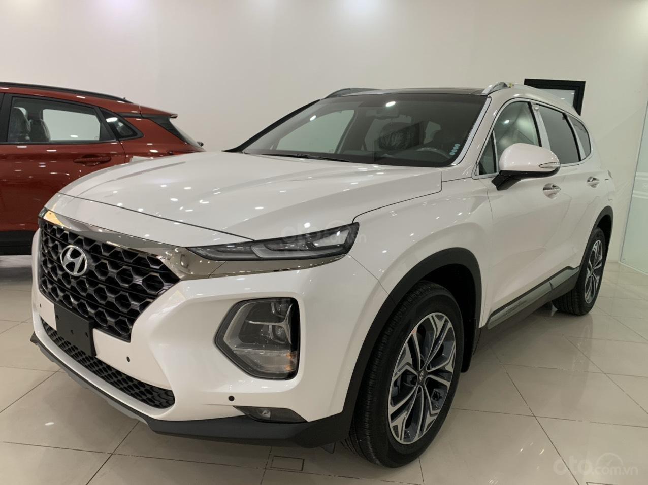 Hyundai Santa Fe 2019 bản Premium máy dầu cao cấp - xe giao ngay - nhiều ưu đãi - 0919929923 (2)