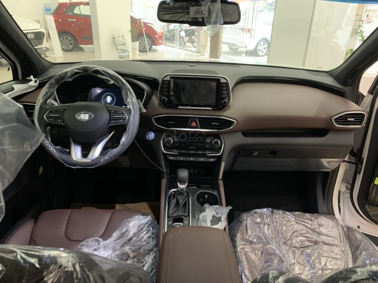 Hyundai Santa Fe 2019 bản Premium máy dầu cao cấp - xe giao ngay - nhiều ưu đãi - 0919929923 (5)