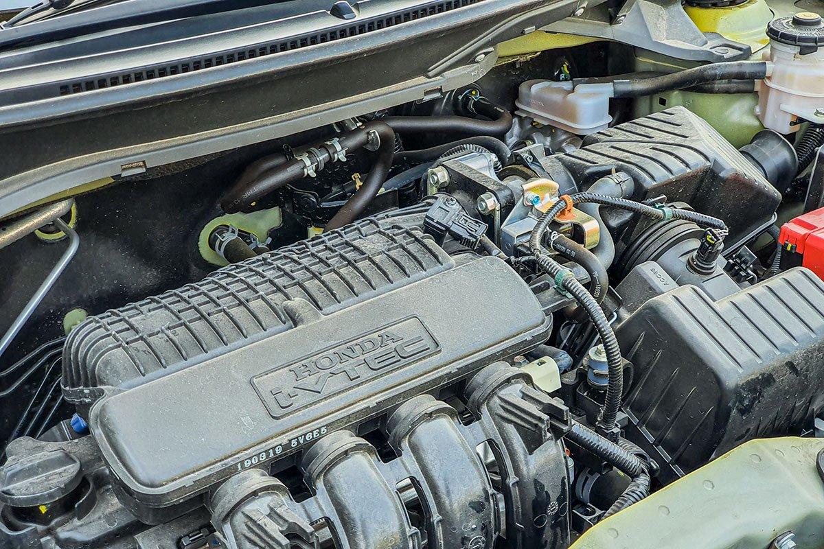 Honda Brio sở hữu động cơ 1.2L 4 xi-lanh SOHC 16 van i-VTEC.