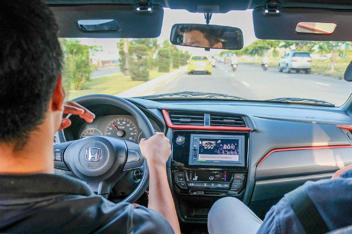 Honda Brio 2019 có khả năng cách âm khá tốt so với các đối thủ trong phân khúc.