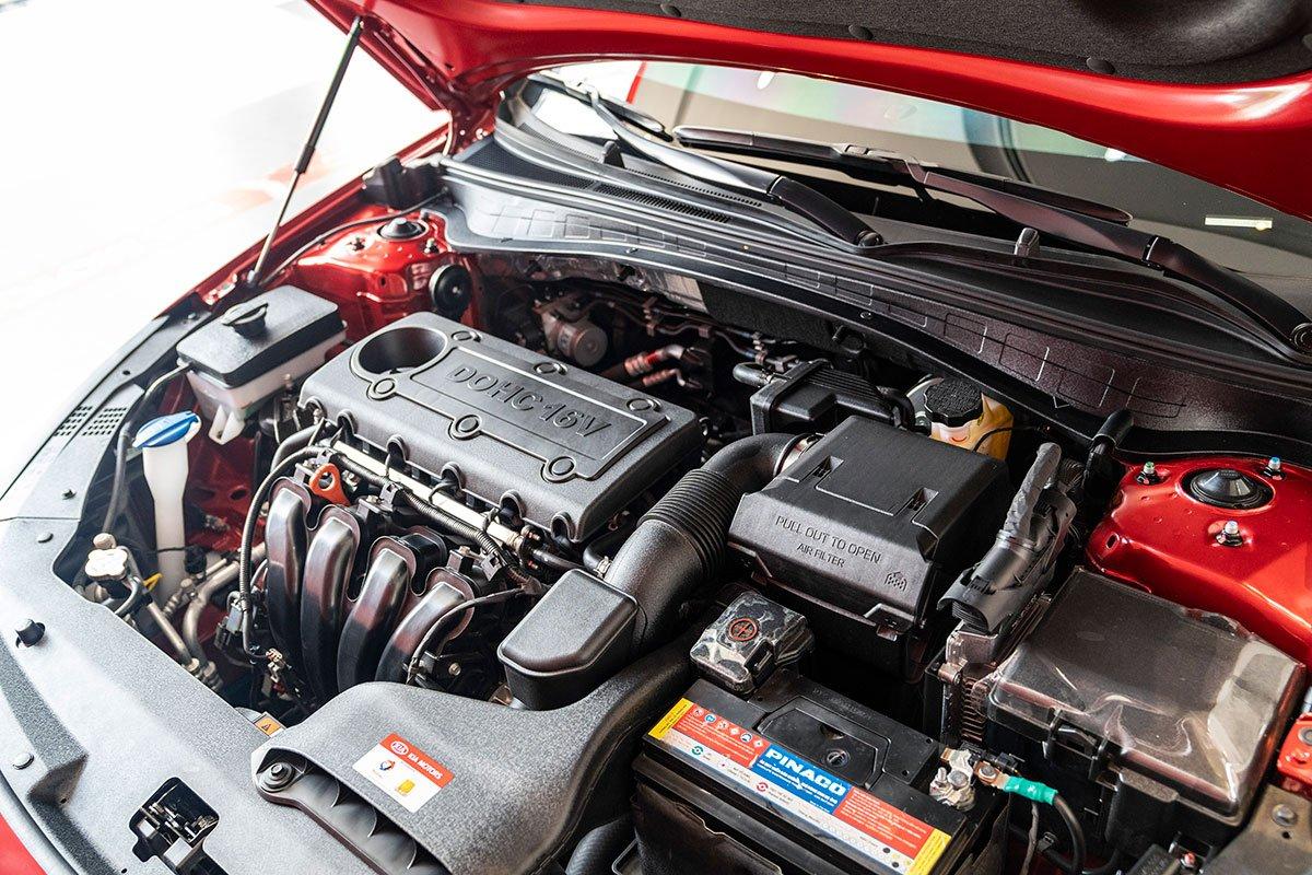 Đánh giá xe Kia Optima 2019: động cơ.