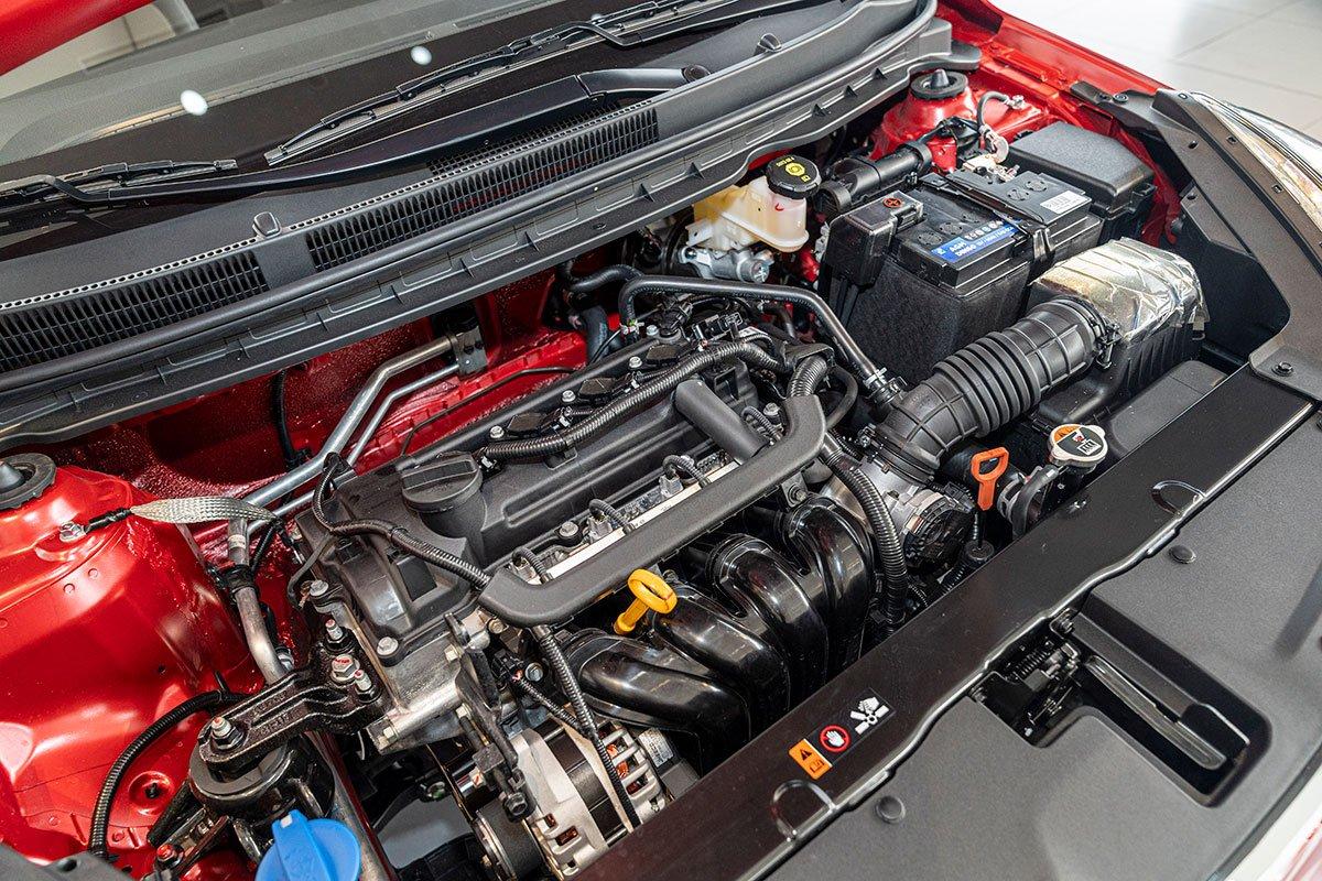 Đánh giá xe Kia Soluto 2019: Động cơ Kappa I-4 1.4L.