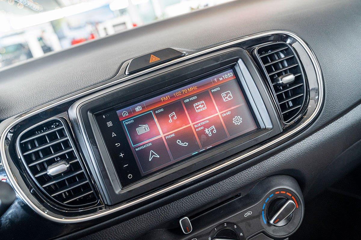 Đánh giá xe Kia Soluto 2019 về màn hình thông tin giải trí - Chất lượng hơn hẳn giá thành