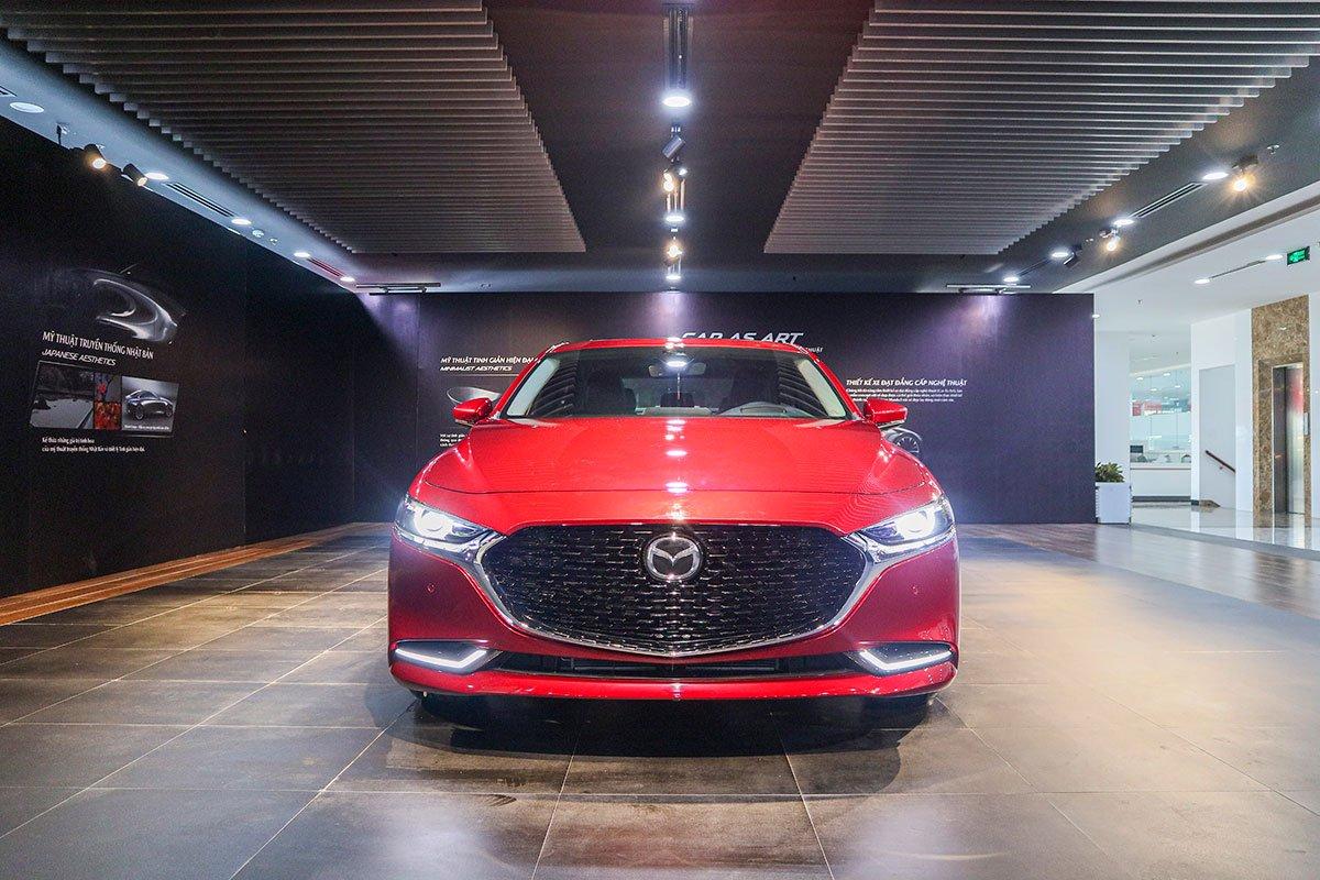 Đánh giá xe Mazda 3 2020 1.5L: Thiết kế đầu xe.