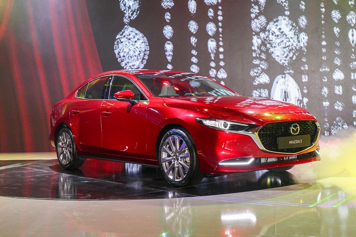 Đánh giá xe Mazda 3 2020 1.5L: Thiết kế đầu xe 1.