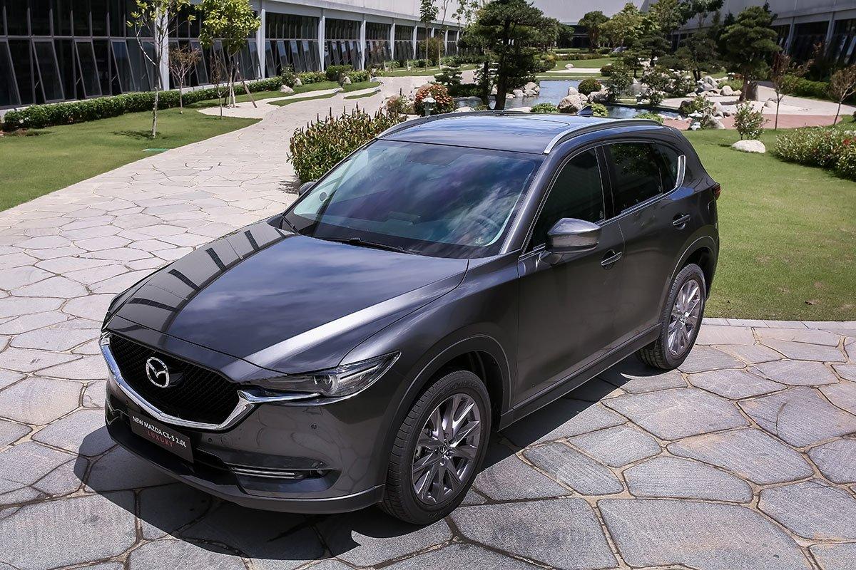Đánh giá xe Mazda CX-5 2019: Hệ thống kiểm soát G-Vectoring Control Plus 1.
