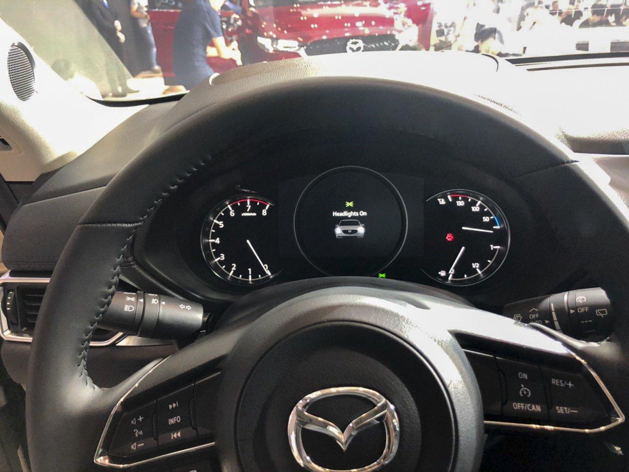 Đánh giá xe Mazda CX-5 2019: Bảng đồng hồ mới hoàn toàn.