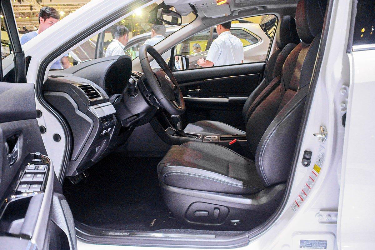 Màn hình giải trí 7 inch trên Subaru Levorg 2020.