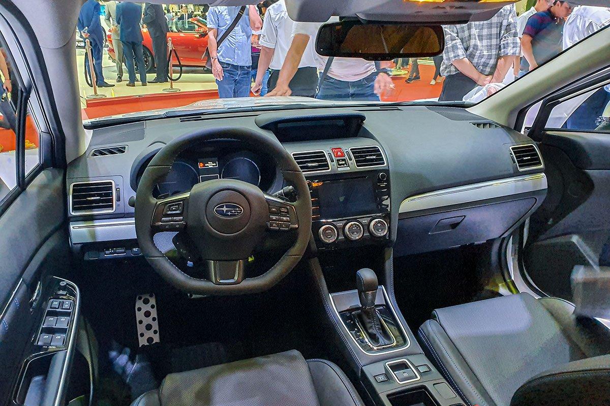 Không gian nội thất của Subaru Levorg 2020.