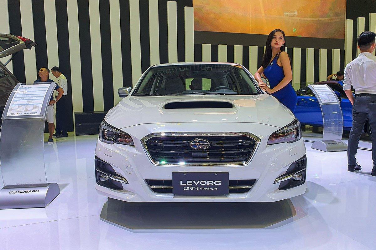 Gian hàng Subaru tại VMS 2019.