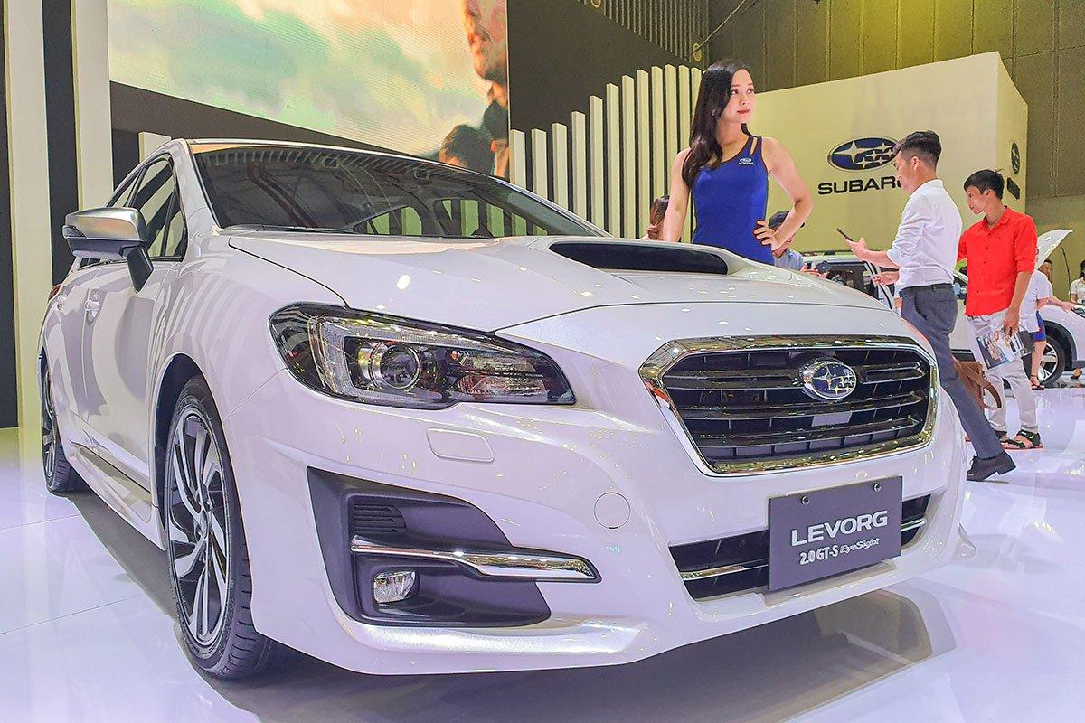 Subaru Levorg 2020 mang vóc dáng của chiếc xe thể thao đa dụng.