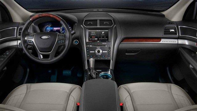 Tiện nghi Ford Explorer