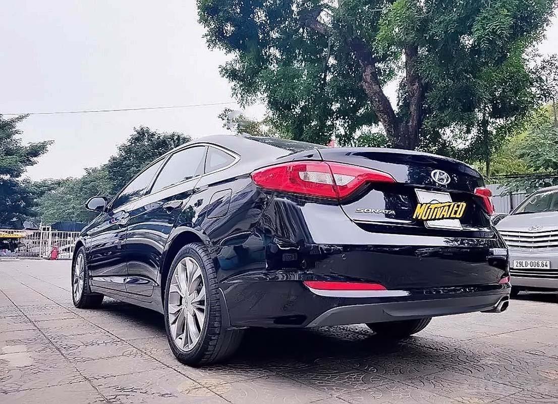 Bán xe Hyundai Sonata 2.0AT đời 2014, màu đen, nhập khẩu  (2)