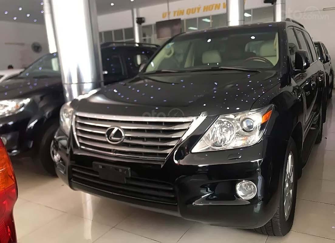 Cần bán Lexus LX 570 năm sản xuất 2009, màu đen, xe nhập  (1)