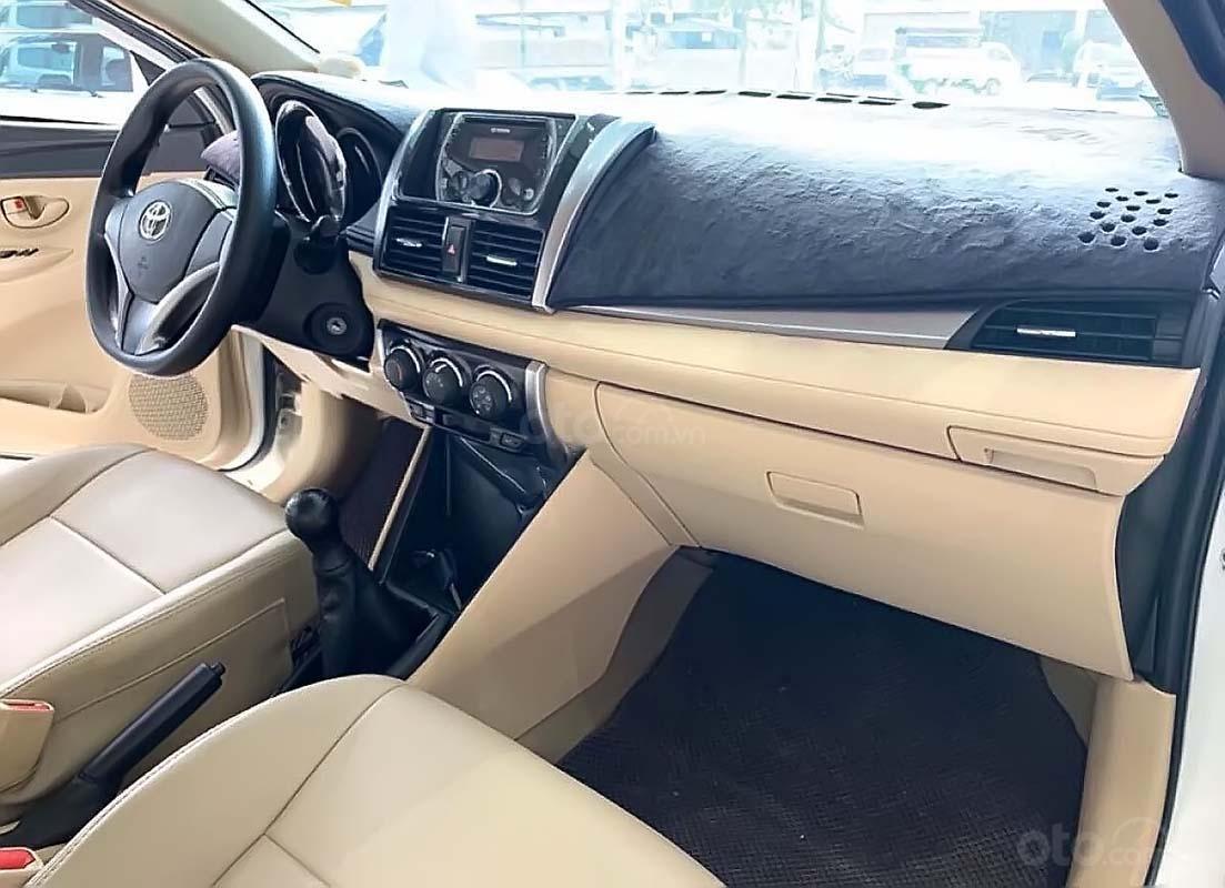 Bán Toyota Vios 1.5 E MT đời 2017, màu trắng số sàn (2)