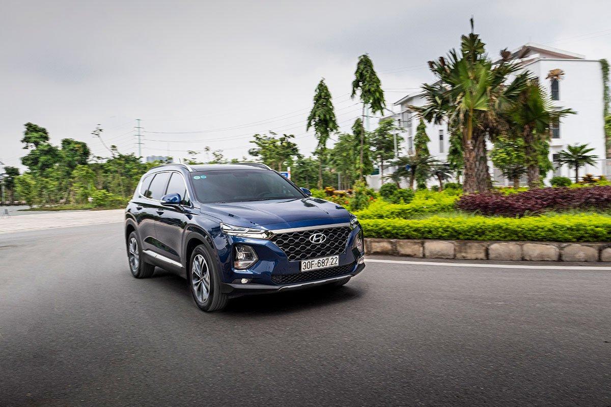 Đánh giá xe Hyundai Santa Fe 2019: Vận hành 1.