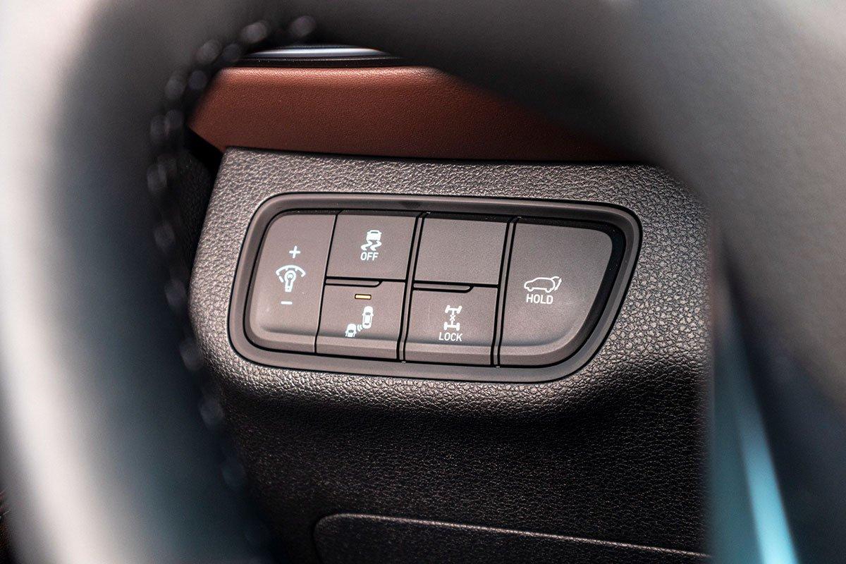 Đánh giá xe Hyundai Santa Fe 2019: Hệ thống an toàn 2.