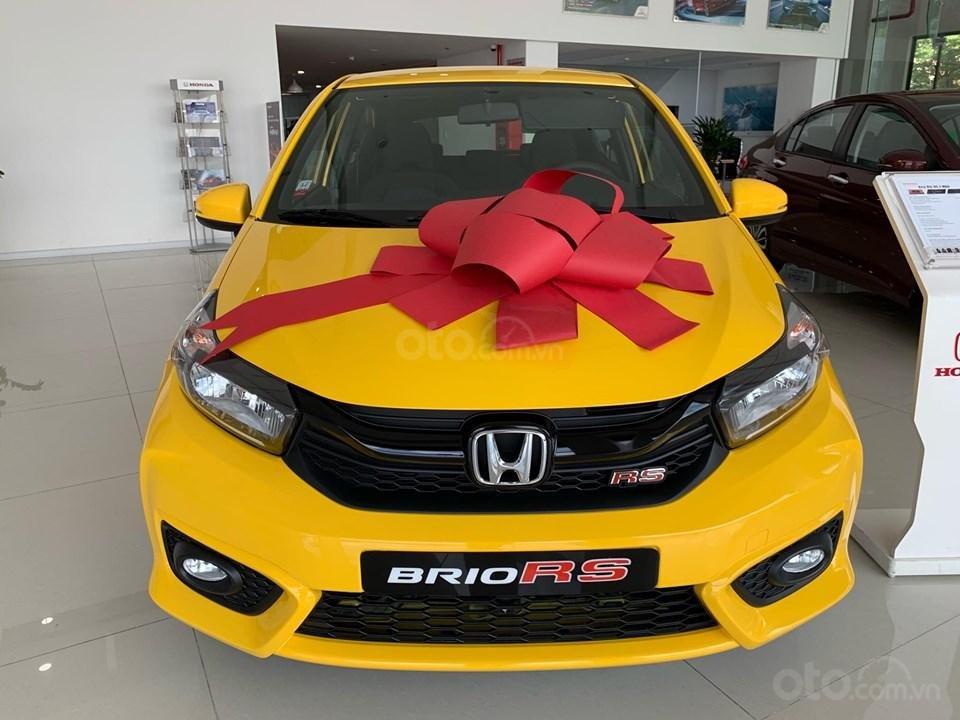 Honda Brio RS Đồng Nai, giá lăn bánh trả trước 140tr, góp 8tr/tháng, giao ngay, đủ màu (1)