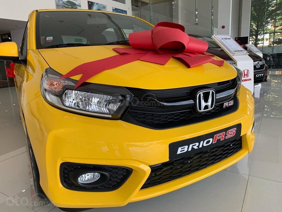 Honda Brio RS Đồng Nai, giá lăn bánh trả trước 140tr, góp 8tr/tháng, giao ngay, đủ màu (2)
