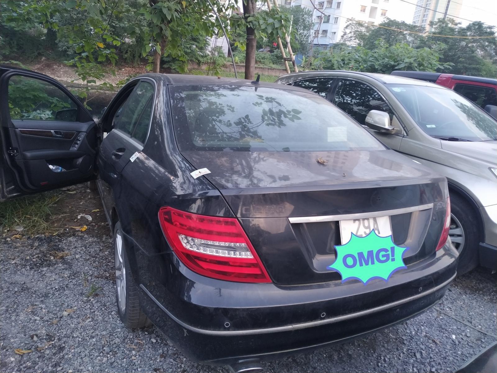 Ngân hàng bán đấu giá xe Mercesdes Benz 2011 (3)