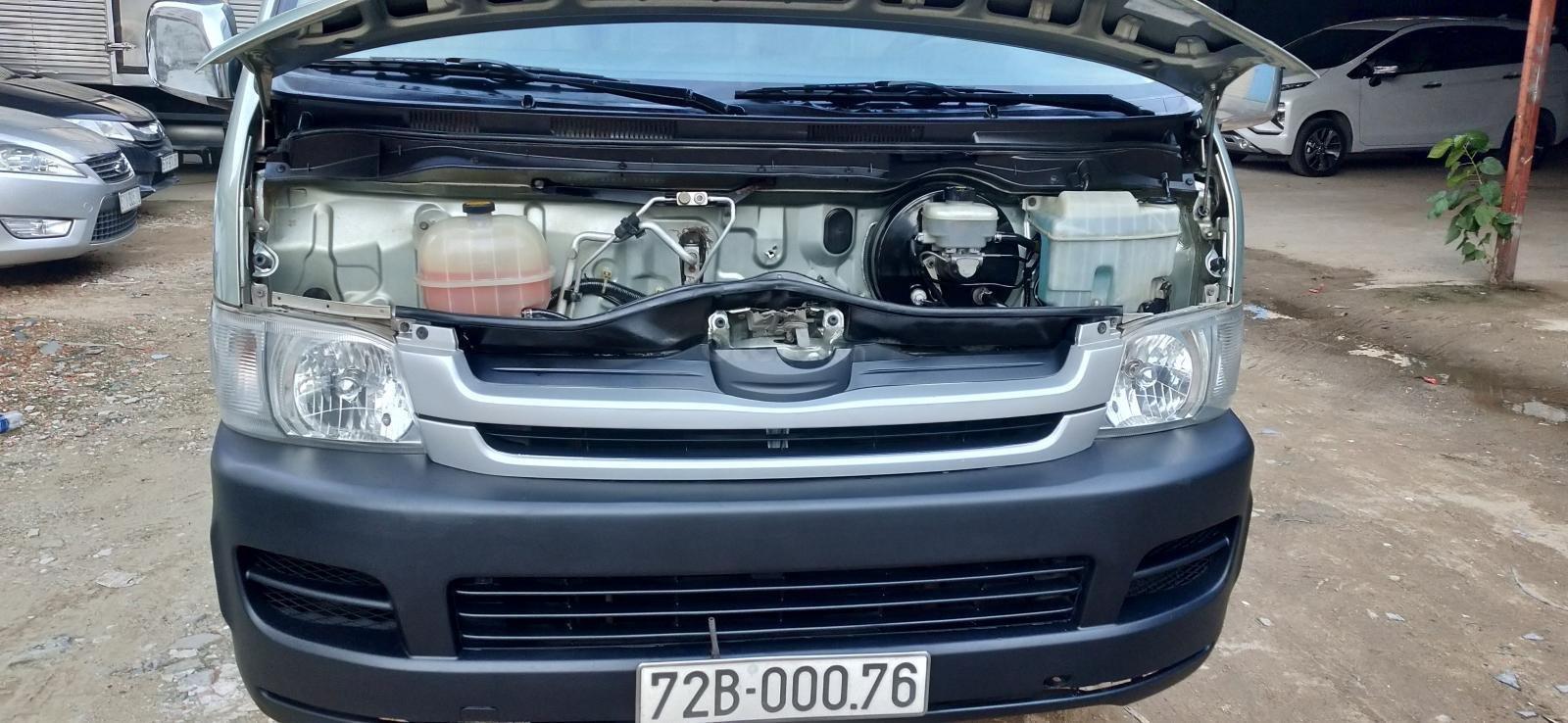 Bán xe Toyota Hiace sản xuất năm 2007 máy dầu 15 chỗ (8)