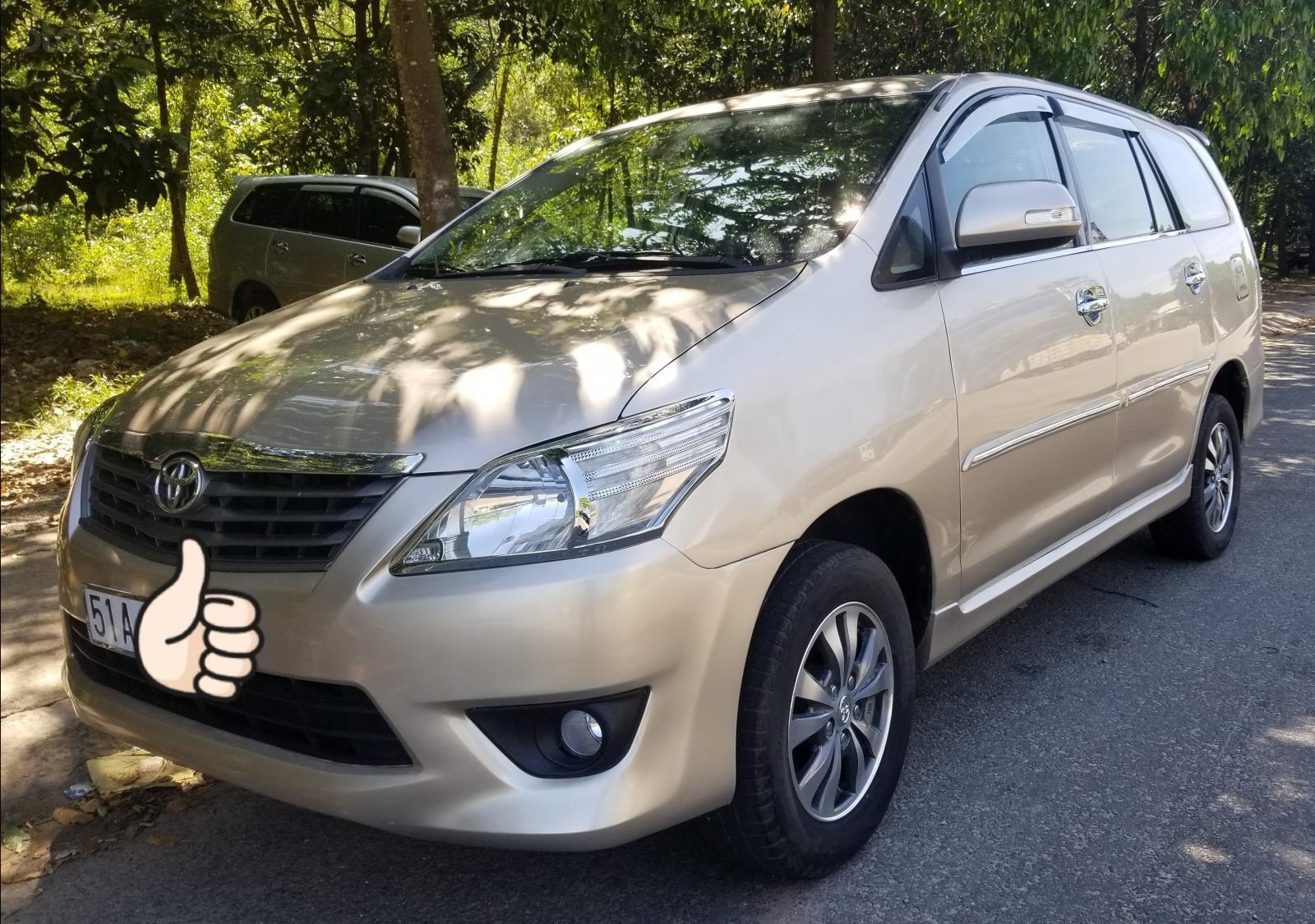 Bán xe Toyota Innova E 2013, màu kem (be) (3)