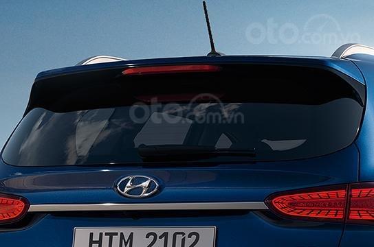 Cần bán Hyundai Santa Fe sản xuất năm 2019, màu xanh lam cực hot, hỗ trợ trả góp (4)