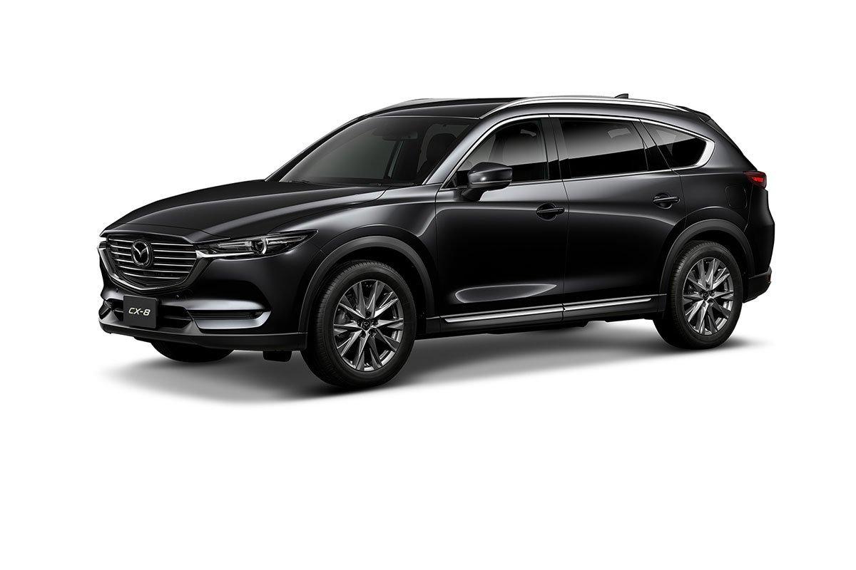 Màu sắc Mazda CX-8 2019 - Đen.