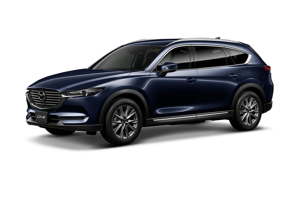 Màu sắc Mazda CX-8 2019 - Xanh.