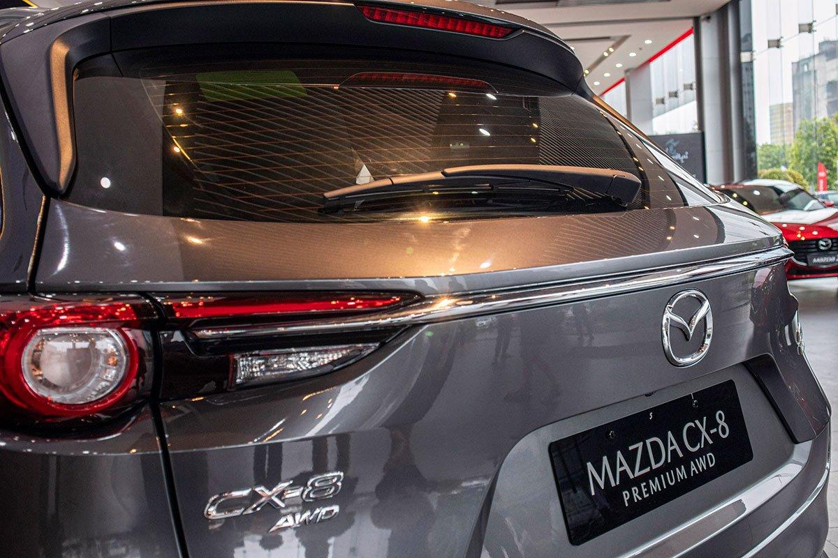 Đánh giá xe Mazda CX-8 2019 về thiết kế đuôi xe - Ảnh 3.