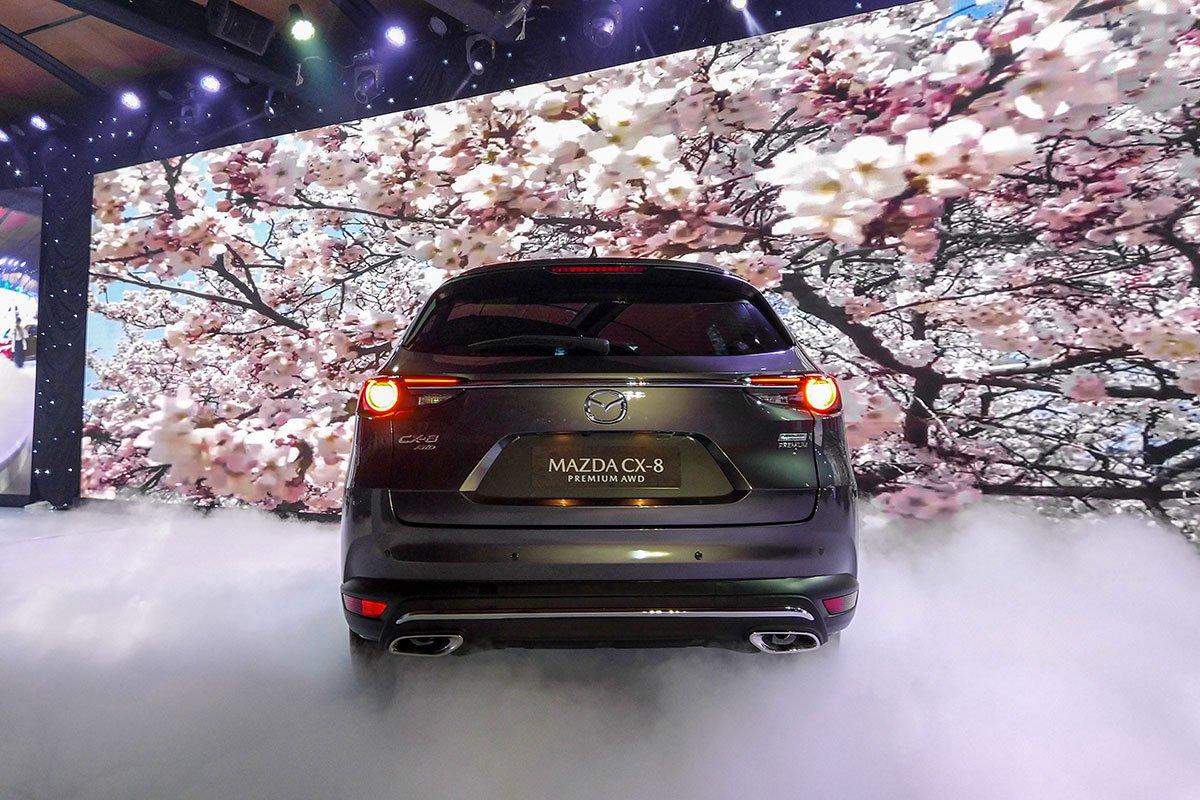 Đánh giá xe Mazda CX-8 2019 về thiết kế đuôi xe - Ảnh 1.