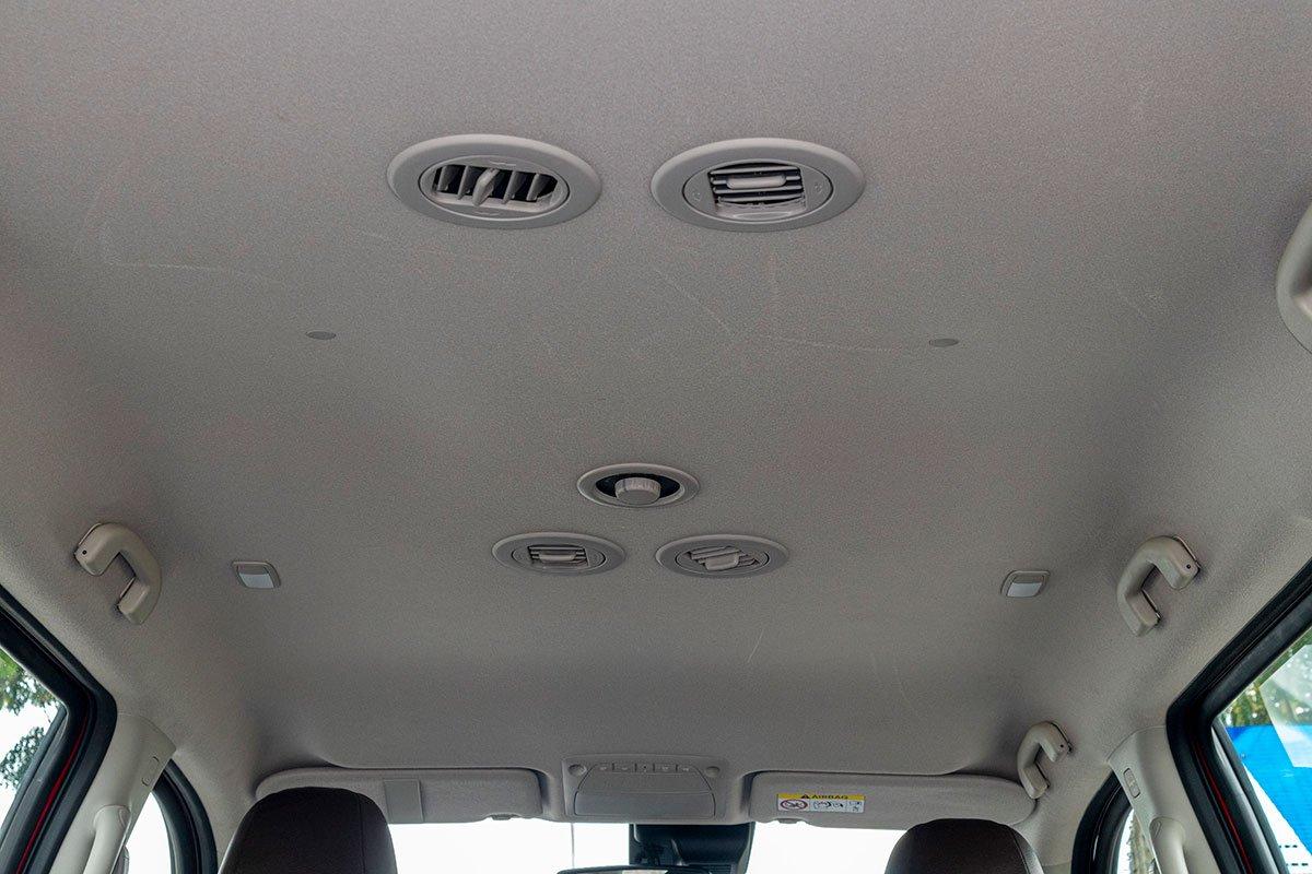 Đánh giá xe Nissan Terra 2019: Cửa gió điều hòa cho hàng ghế sau 1