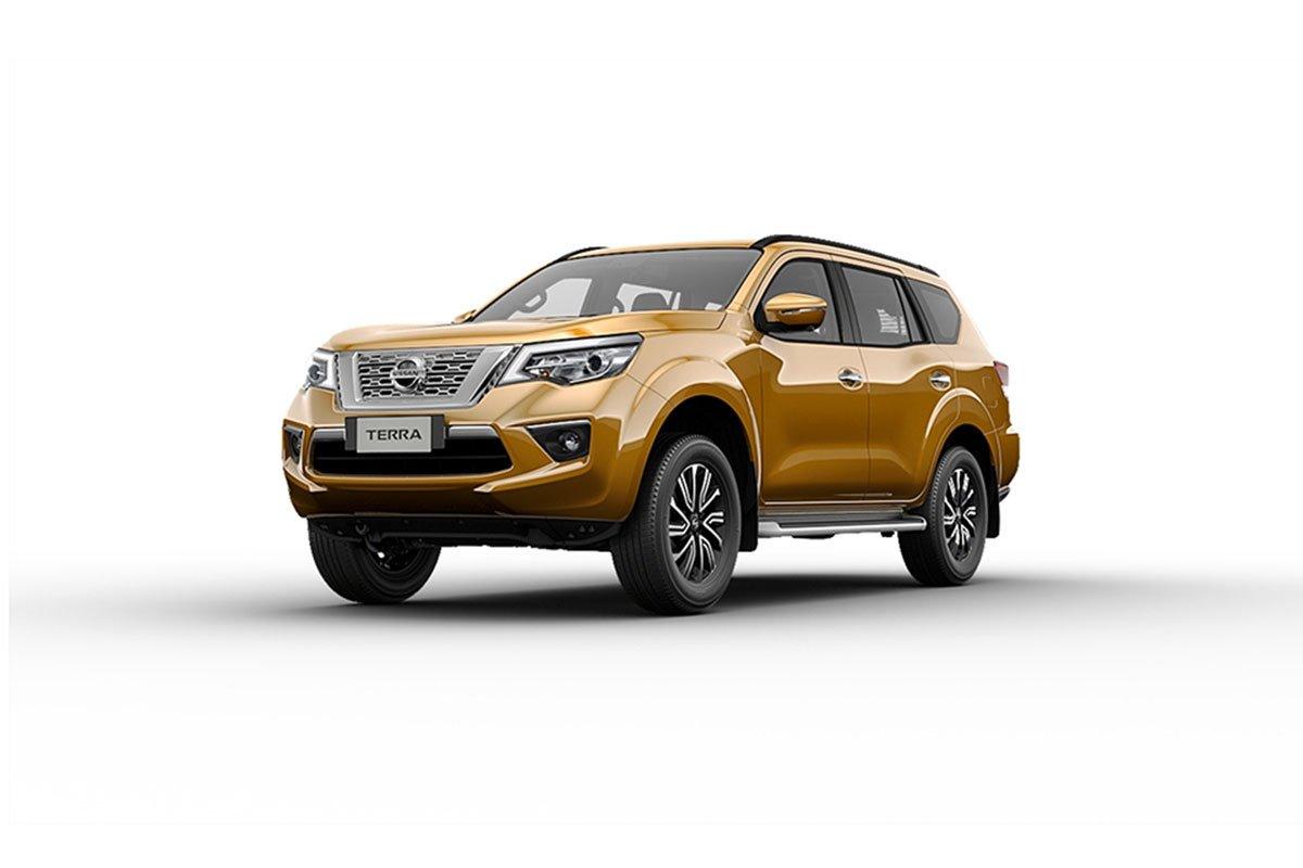 Màu sắc ngoại thất Nissan Terra - Vàng.