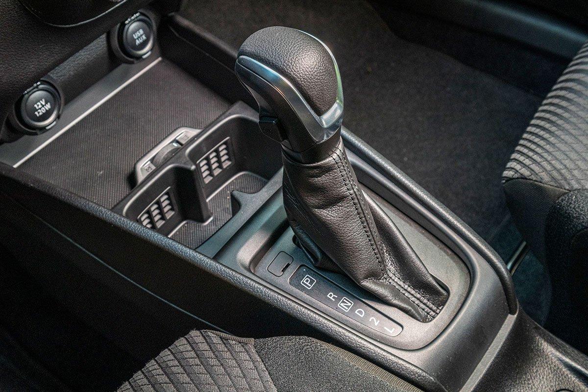 Đánh giá xe Suzuki Ertiga 2019: Hộp số tự động 4 cấp.