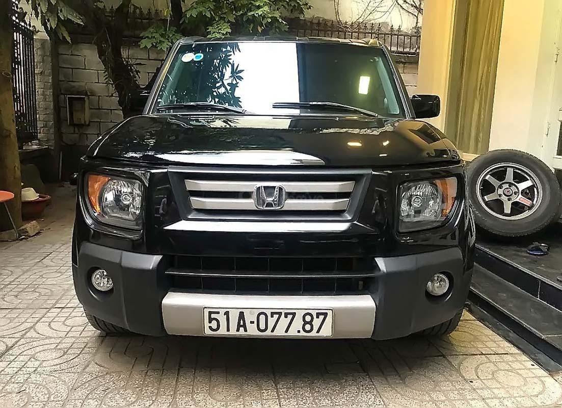 Bán Honda Element limited sản xuất 2008, màu đen, xe nhập  (1)