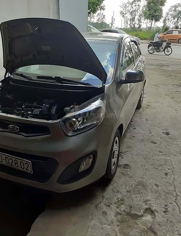 Bán Kia Morning Van năm 2012, màu xám, nhập khẩu, 180tr (1)